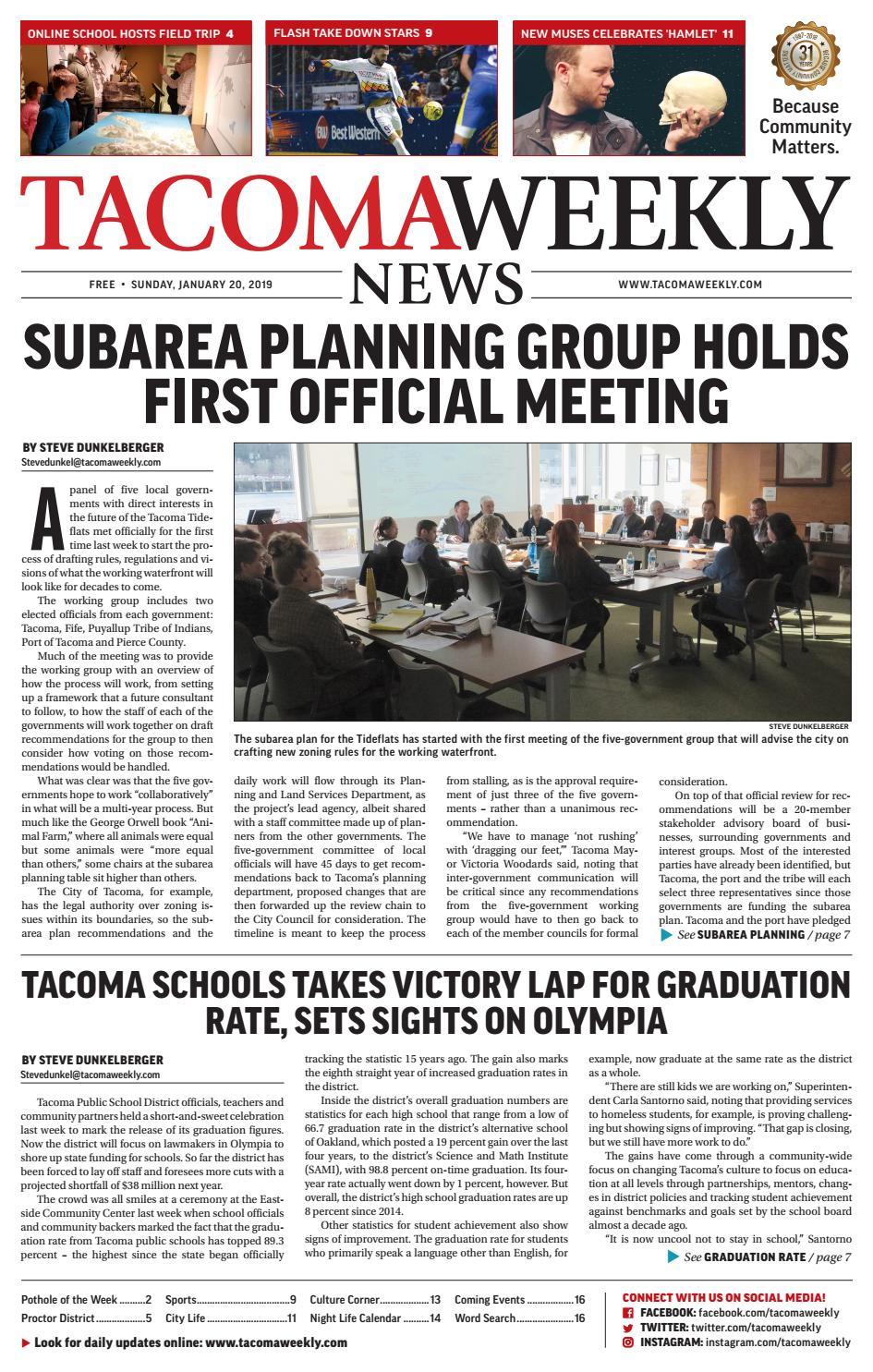 Tacoma Weekly 01.20.19 by Tacoma Weekly News - issuu c744c8181