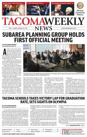Tacoma Weekly 012019 By Tacoma Weekly News Issuu
