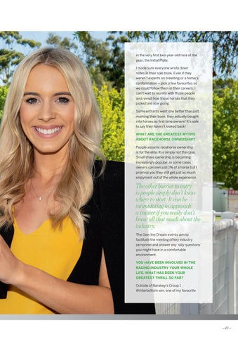 Page 43 of Q & A with Own The Dream Ambassador Brittany Taylor