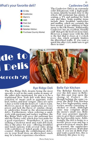 Page 15 of A Guide to Local Delis