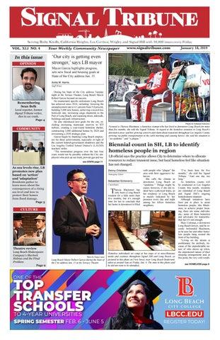 Jan  25, 2019   Vol  XLI No  5 by Signal Tribune - issuu