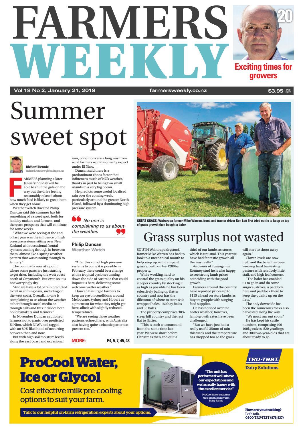 cbc3705cba8 Farmers Weekly NZ January 21 2019 by Farmers Weekly NZ - issuu