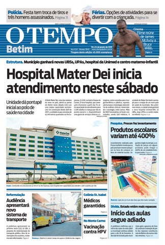O Tempo Betim, sexta - 18 01 2019 by Tecnologia Sempre Editora - issuu ec59301f90