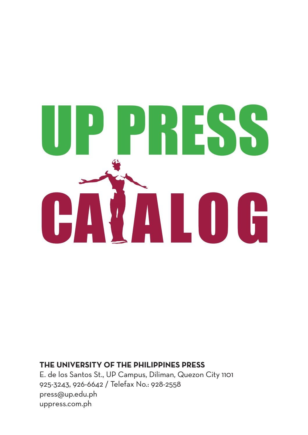 Catalog 2018 (1 11 2019) by UP Press - issuu