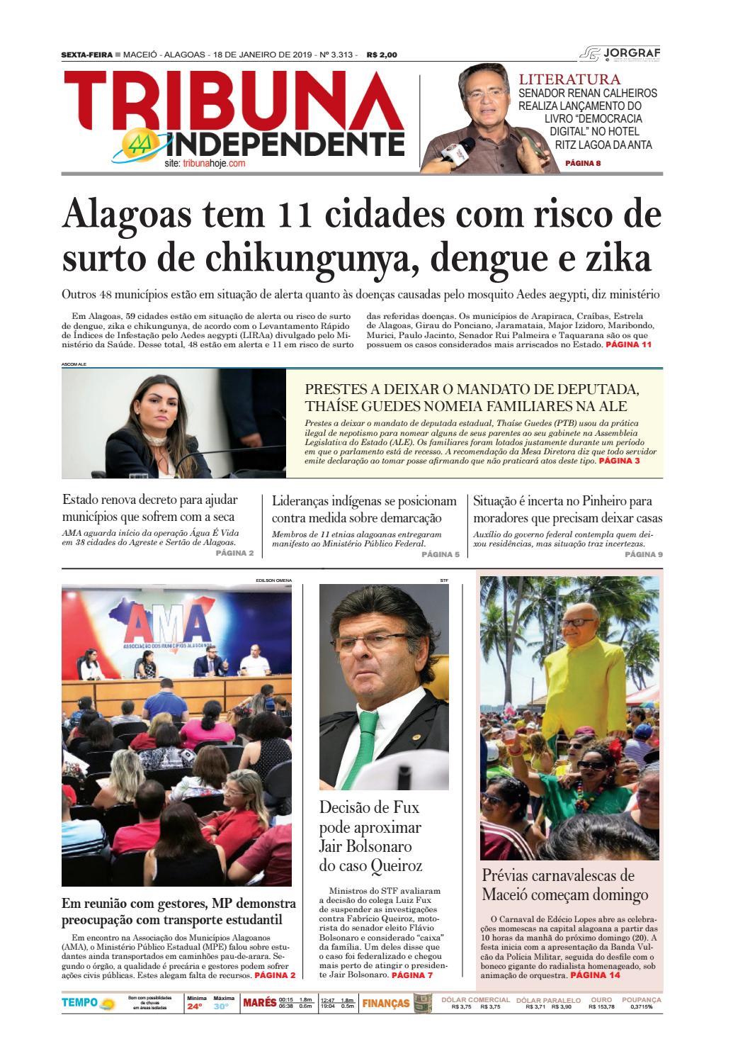 f132daff1a Edição número 3313 - 18 de janeiro de 2019 by Tribuna Hoje - issuu
