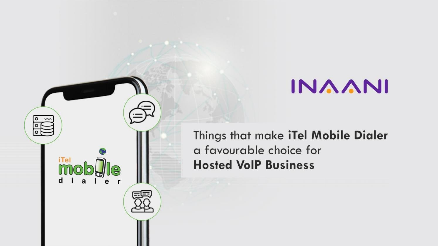 What makes iTel Mobile Dialer the best for Hosted VOIP Business by