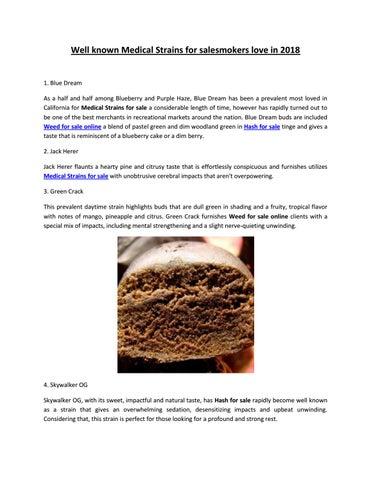 Weed for sale online - www medicalmarijuanabudshop com by Medical