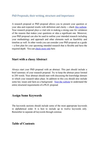 4 Elements of a Good Abstract