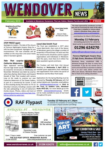 Wendover News February 2019 by Wendover News - issuu