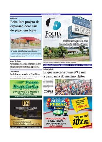 3f6a49b22 Edição n° 2260 (18 01 2018) by Folha de Candelária - issuu