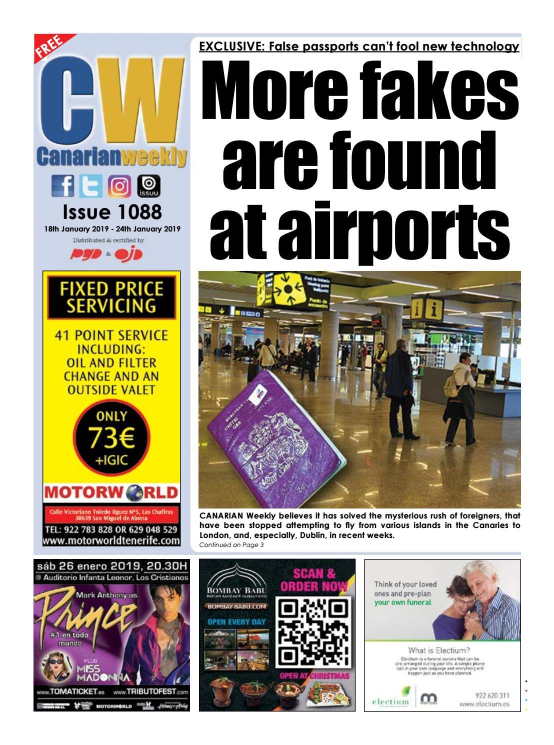 CW Issue 1088 by Canarian Weekly - issuu