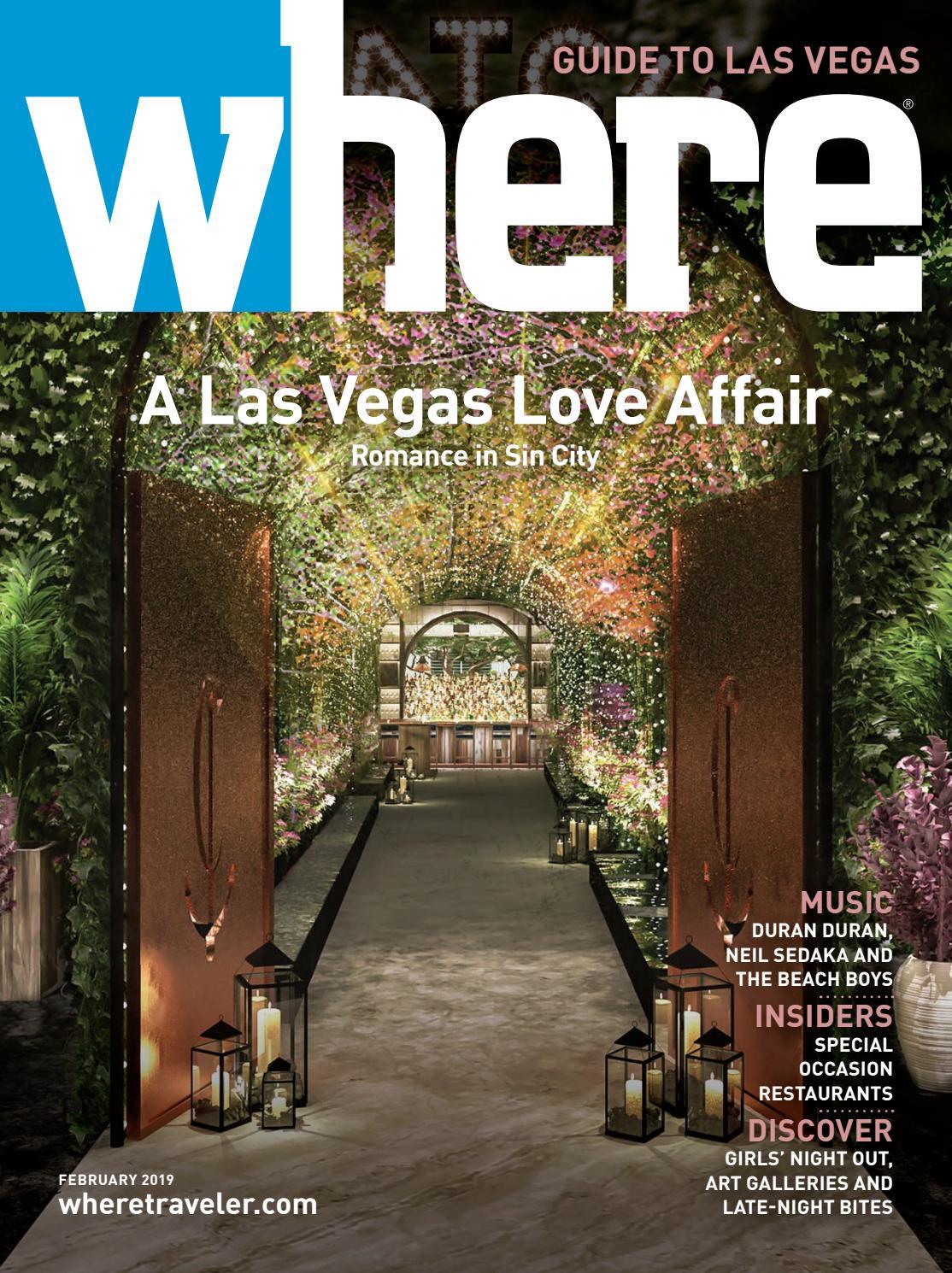 fe35d3c4b52 Where Magazine Las Vegas Feb 2019 by Morris Media Network - issuu