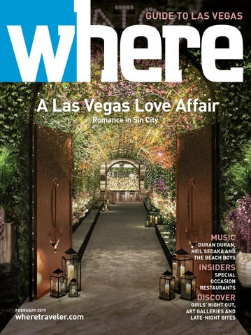8c17fea4721 Where Magazine Las Vegas Feb 2019 by Morris Media Network - issuu