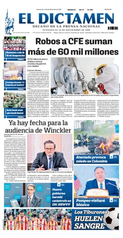 11bb8eaff718f El Dictamen 18 de Enero de 2019 by El Dictamen - issuu