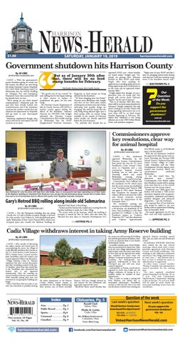 Harrison News Herald 1 19 By Schloss Media