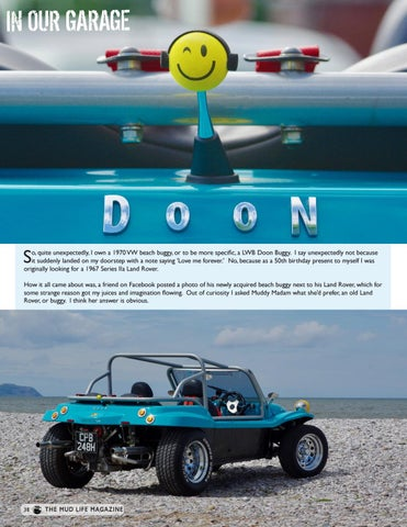 Page 38 of In our Garage - Doon Buggy