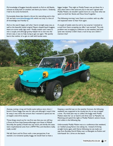 Page 39 of In our Garage - Doon Buggy