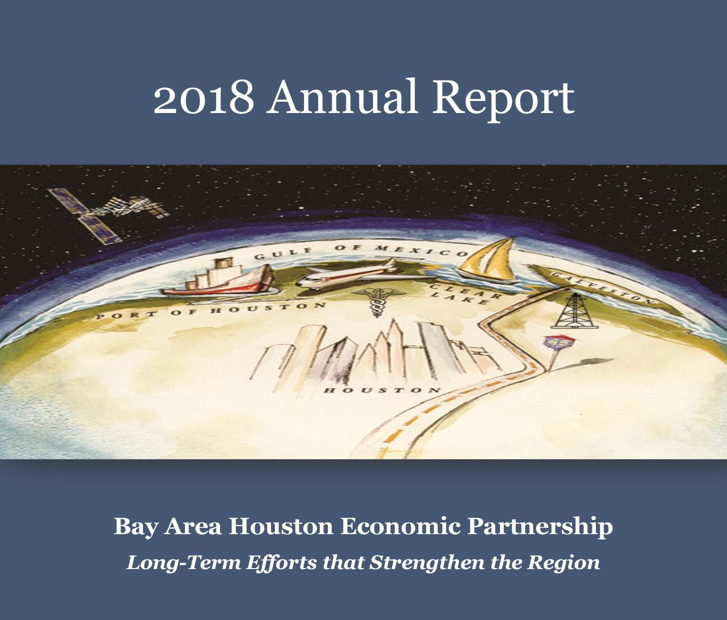Annual Report 2018 by Bay Area Houston Economic Partnership - issuu