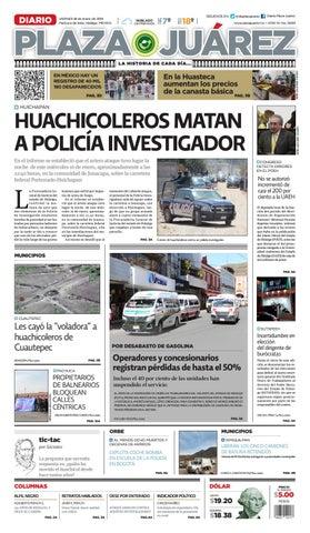 5c1c52d331 18-01-19 by Diario Plaza Juárez - issuu