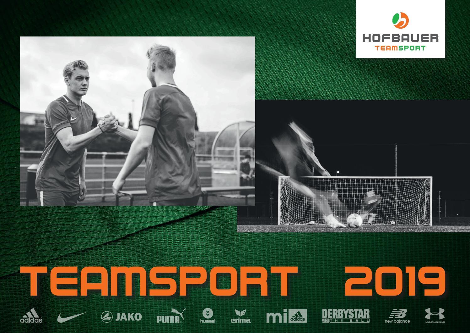 Hofbauer Teamsport Katalog 2019 by Hofbauer Teamsport