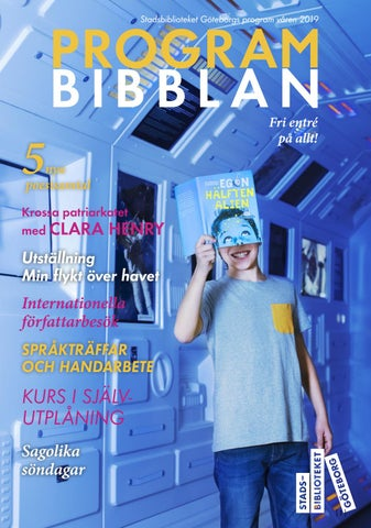 9ecd9e9eb7ee Stadsbiblioteket Göteborgs programtidning våren 2019 by ...
