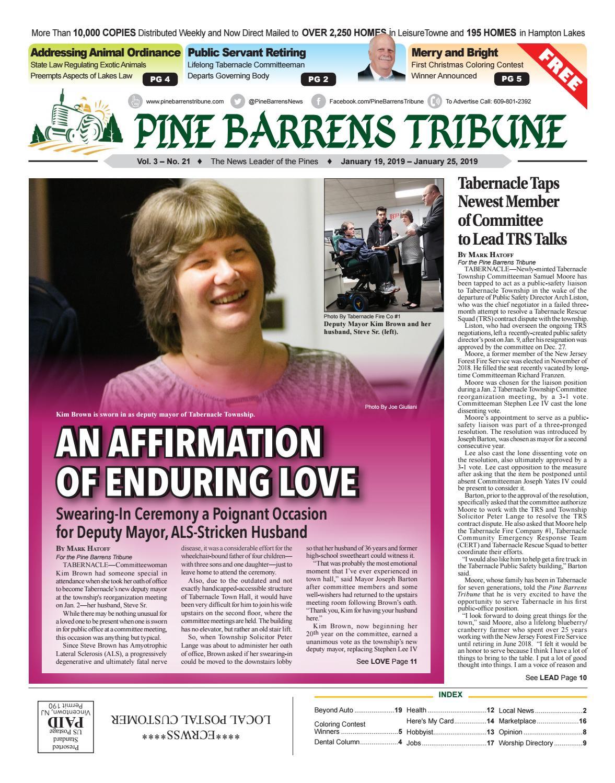 January 19 2019 Pine Barrens Tribune By Pine Barrens Tribune Issuu