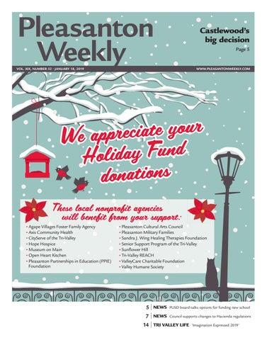 Pleasanton Weekly January 18, 2019 by Pleasanton Weekly - issuu