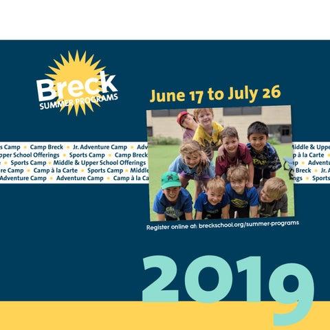 Breck Summer Programs 2019 by Breck School - issuu