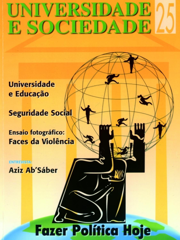 43e97b34d Revista Universidade e Sociedade 25 by ANDES-SN - issuu