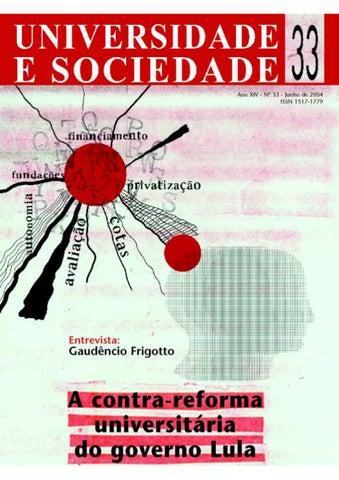 06607ea3019 Revista Universidade e Sociedade 33 by ANDES-SN - issuu