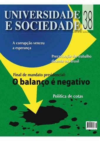 7e1979d1c84 Revista Universidade e Sociedade 38 by ANDES-SN - issuu