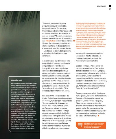Page 21 of Loja de discos