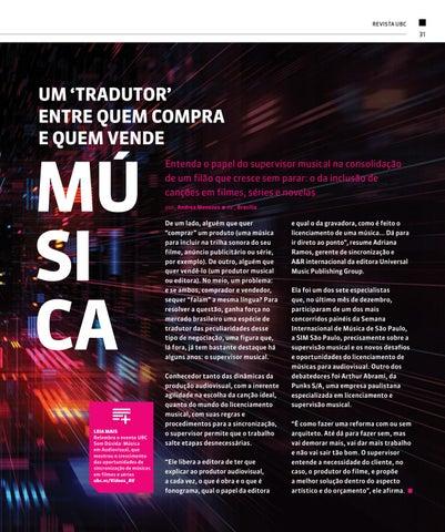 Page 31 of Um 'tradutor' entre quem compra e quem vende música