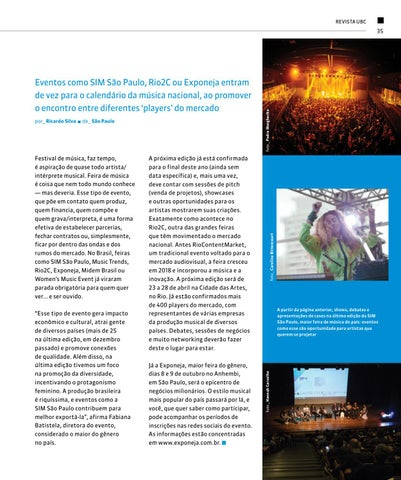 Page 35 of Feiras: o lugar ideal para negociar sua música