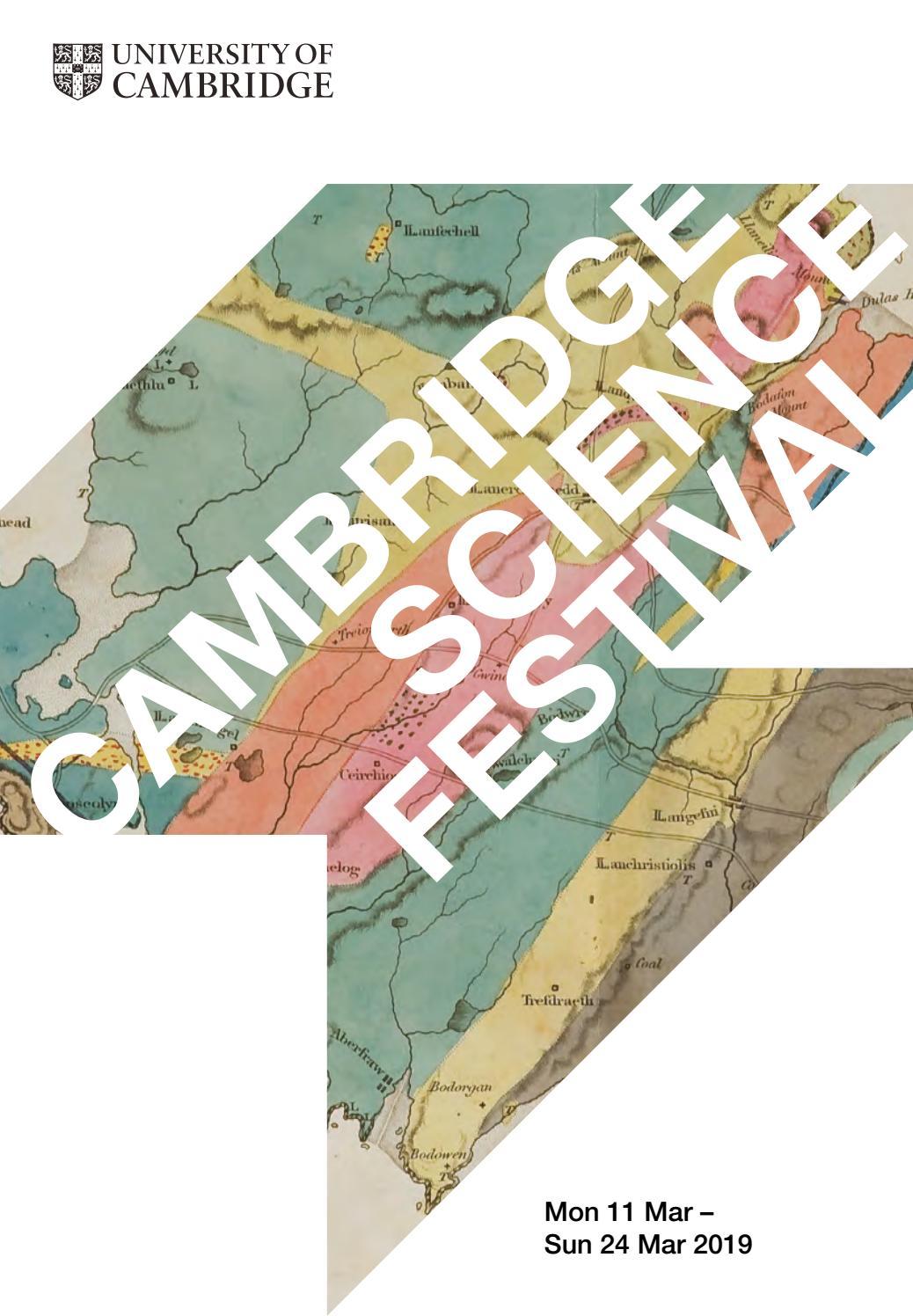 Cambridge Science Festival Programme 2019 by University of