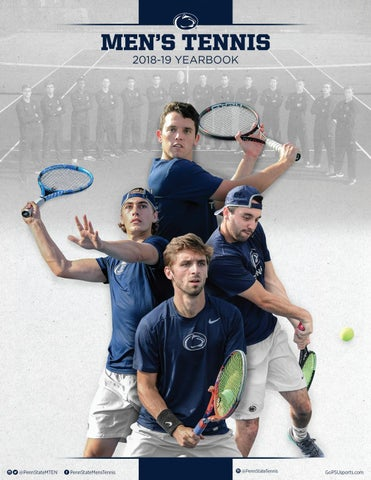 eeaad0d191fa 2018-19 Penn State Men s Tennis Yearbook by Penn State Athletics - issuu