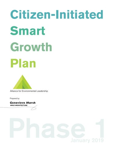 Citizen-Initiated Smart Growth Plan Phase 1 by Genevieve ...