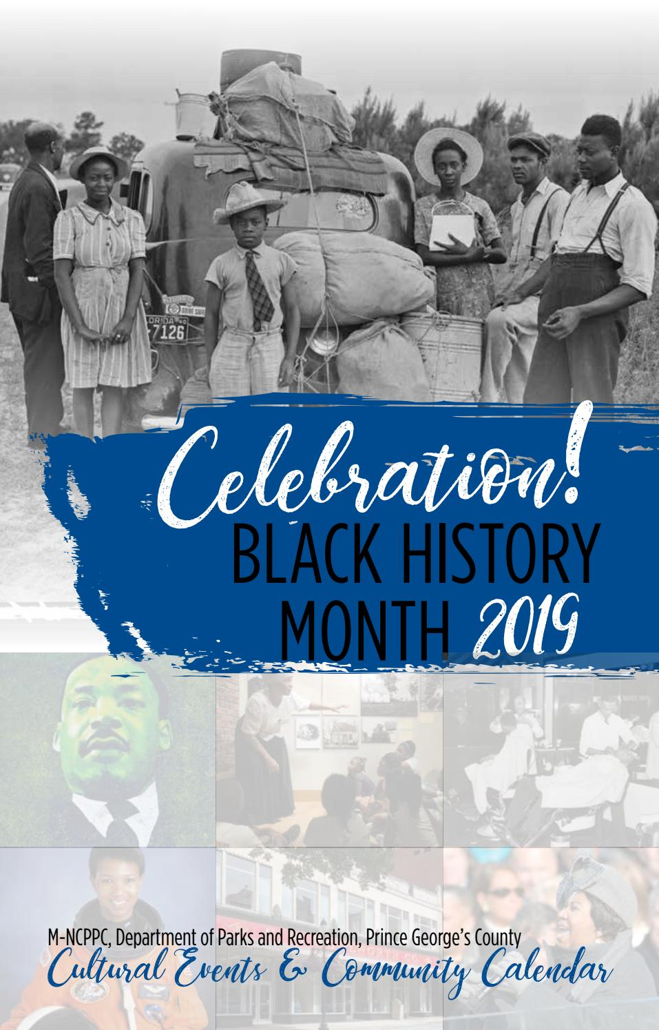 2019 Black History Month Cultural Events & Community