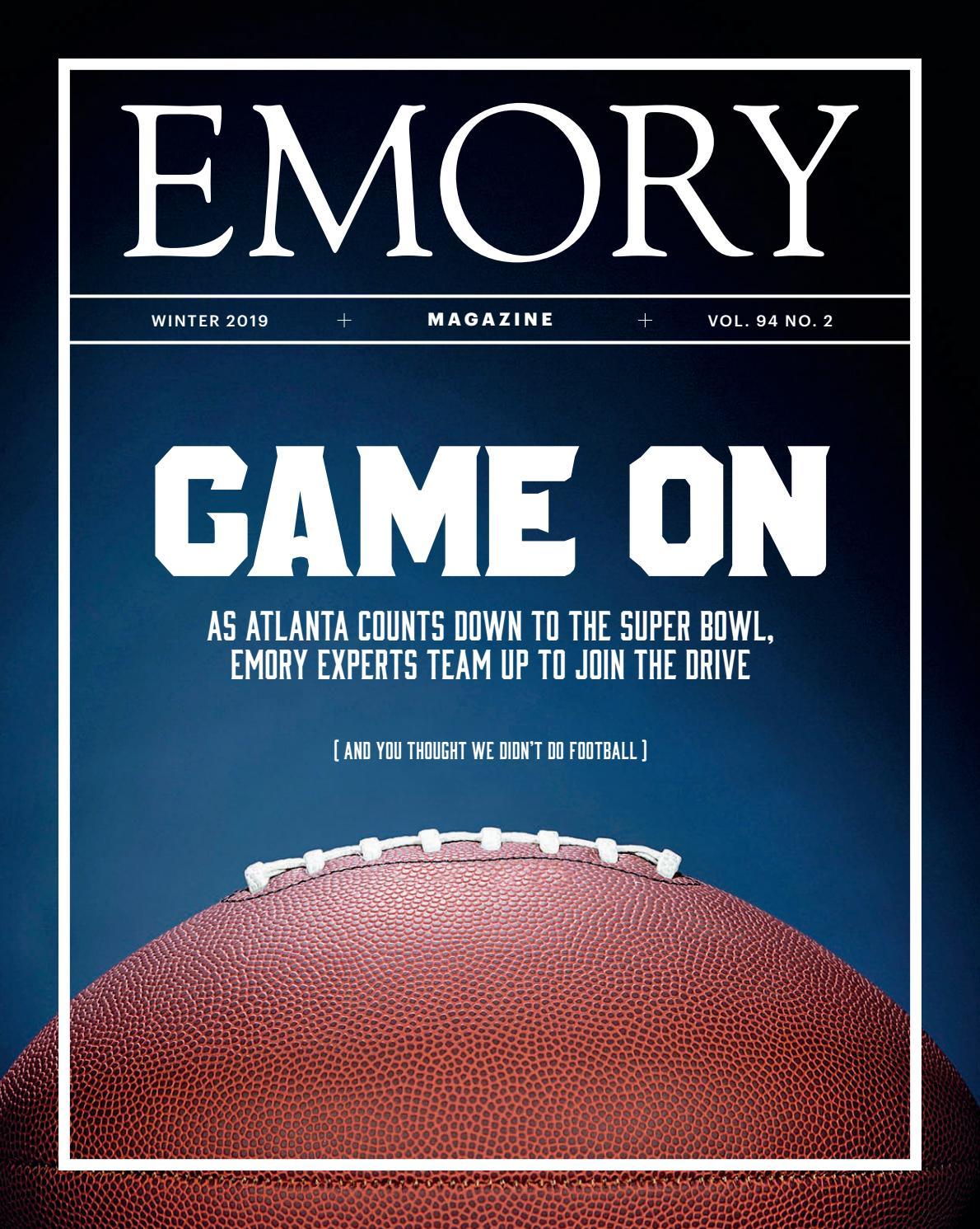 Emory Magazine Winter 2019 by Emory University - issuu