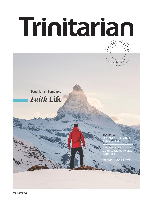 Trinitarian - Special Edition - 2019 by Trinity Christian