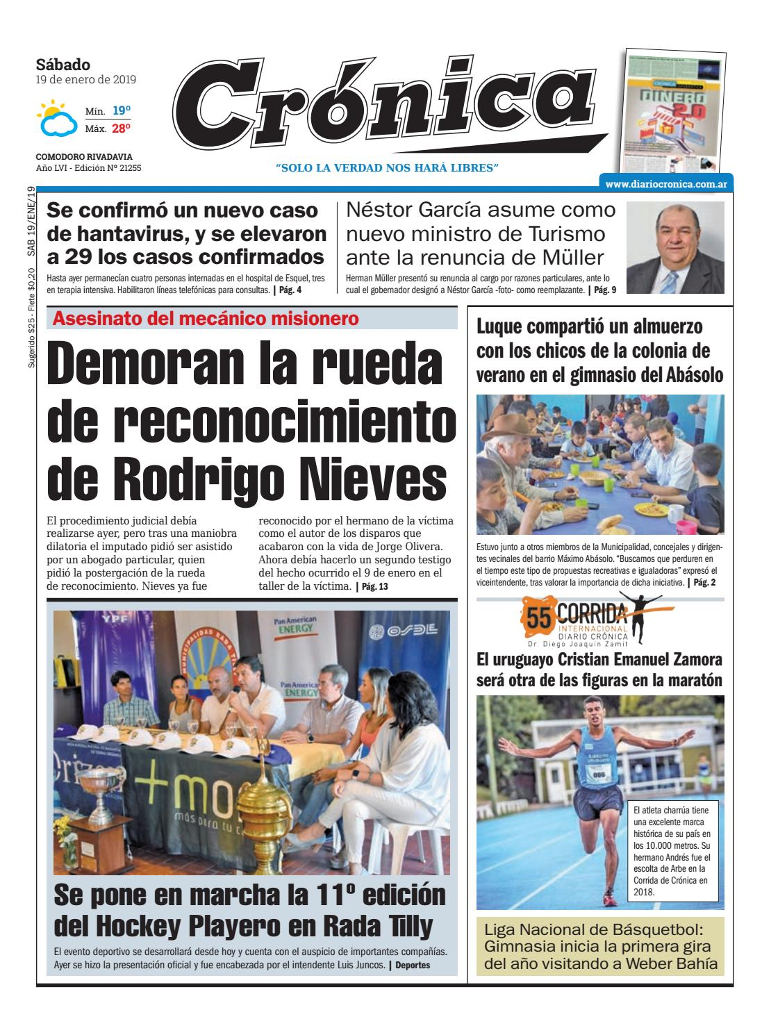 f7b3e8338a8 Diario cronica 19 01 2019 by Diario Crónica - issuu