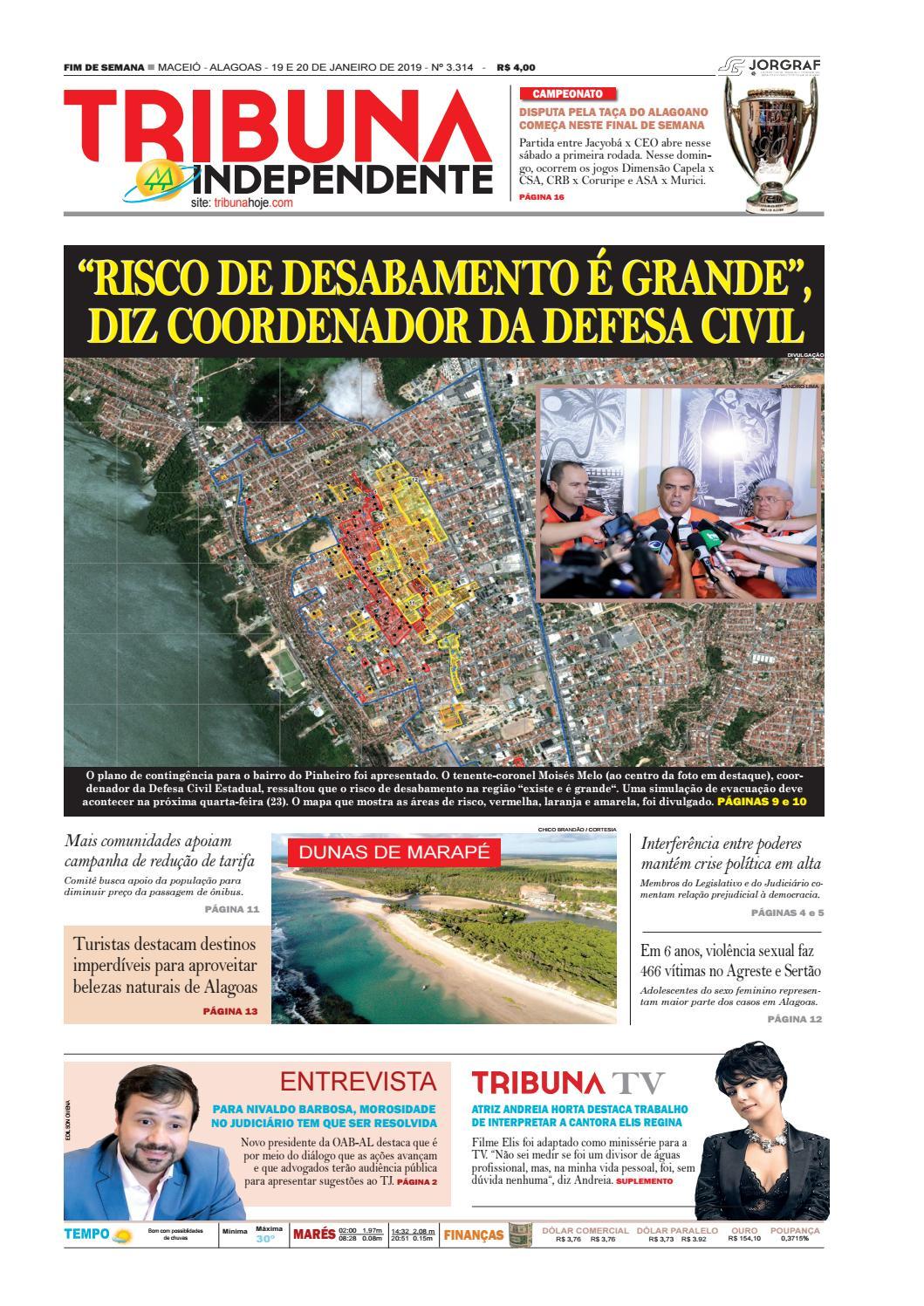 874dfb93eff Edição número 3314 - 19 e 20 de janeiro de 2019 by Tribuna Hoje - issuu