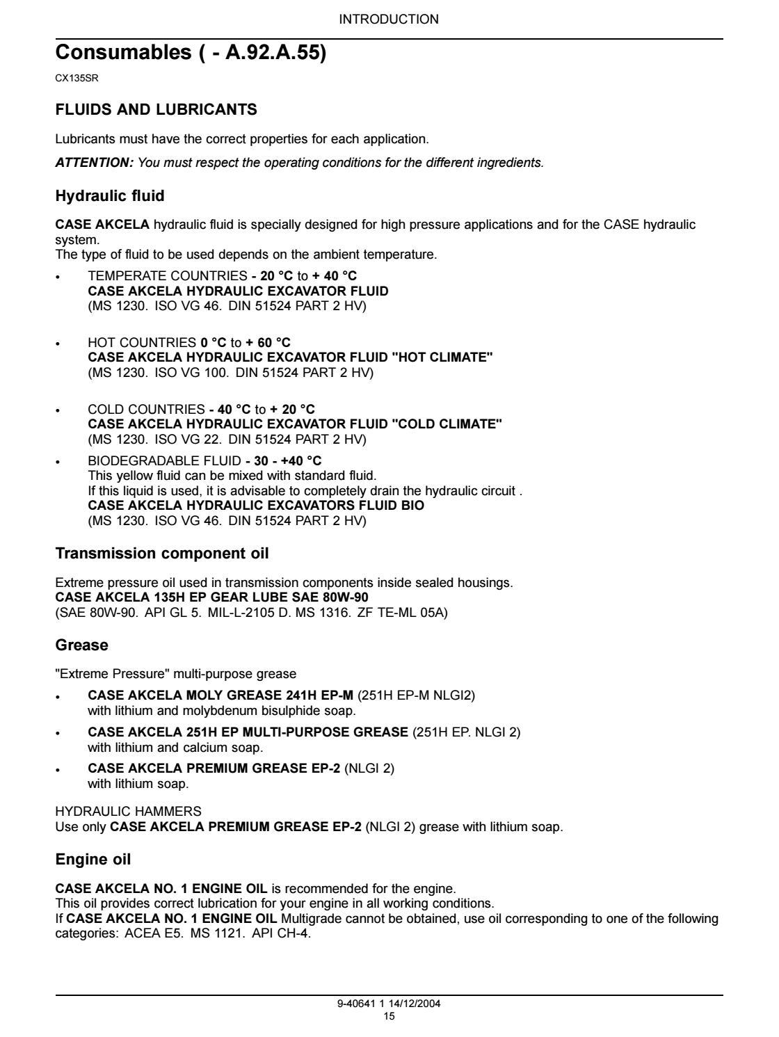 CASE CX135SR CRAWLER EXCAVATOR Service Repair Manual by
