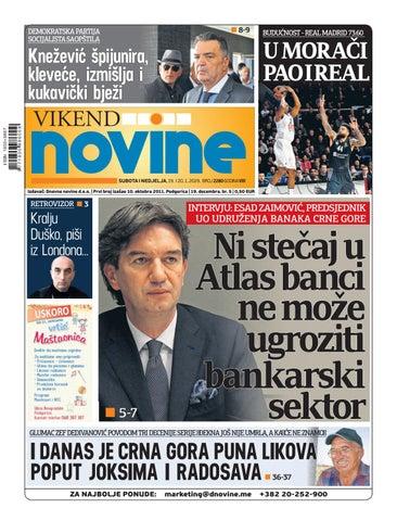 0338bf1c4e81 Dnevne novine 19-20. januar 2019. by Dnevne Novine - issuu