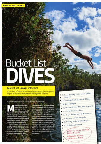 Page 52 of Bucket List Dives