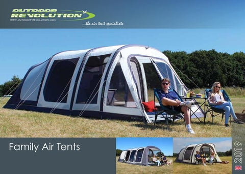 ...the air tent specialists & Outdoor Revolution 2019 - Best Family TENT - PESCI Camping Store by ...
