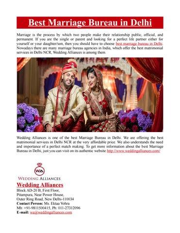Best Marriage Bureau In Delhi By Wedding Alliances Issuu