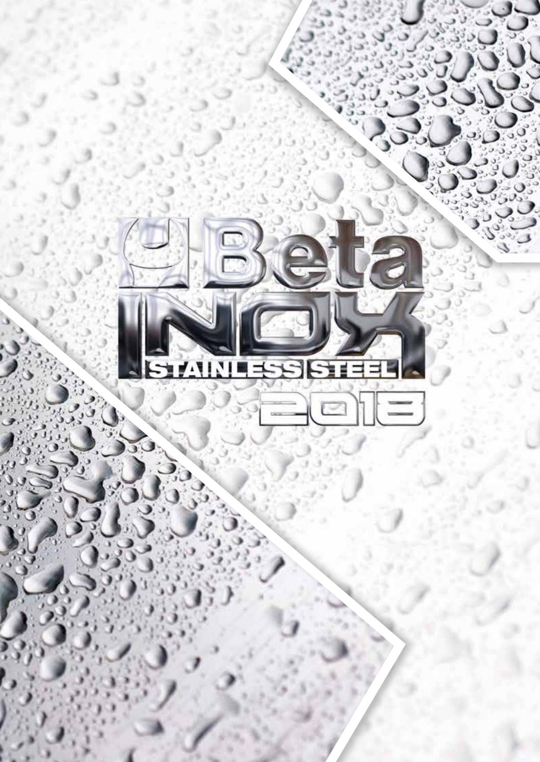 Beta Tools 42Inox-Combination Wrench,Open//Offset Ring End,Stainless Steel 17X17