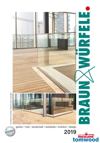 Gartenholz Katalog Chf Braun Würfele Tomwood By Tomwood Ag Issuu
