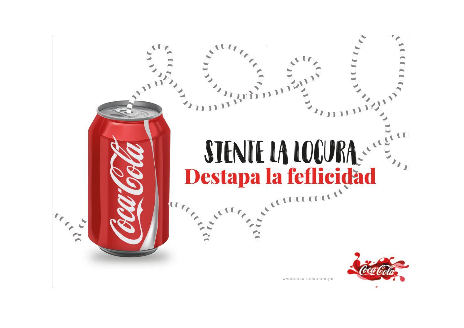 Afiche Publicitario De Coca Cola By Karoline Cruzado Issuu
